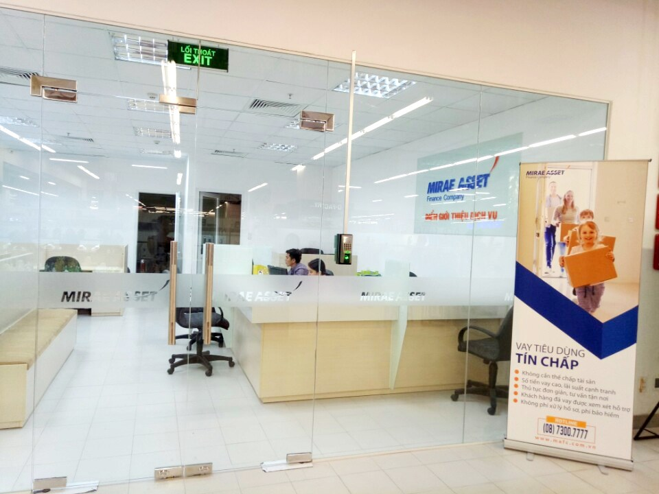Mirae Asset Finance (Viet Nam) introduces service introduction point in Da Nang province.