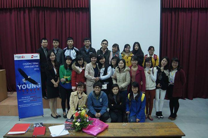 Event truyền thông Chương trình Lãnh đạo trẻ Maritime Bank 2015 tại các trường Đại học