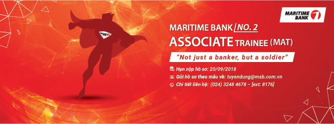 MARITIME BANK ASSOCIATE TRAINEE (MAT) – NO. 2