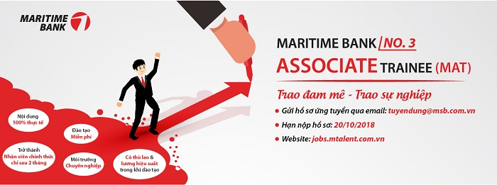 MARITIME BANK ASSOCIATE TRAINEE (MAT) – NO. 3