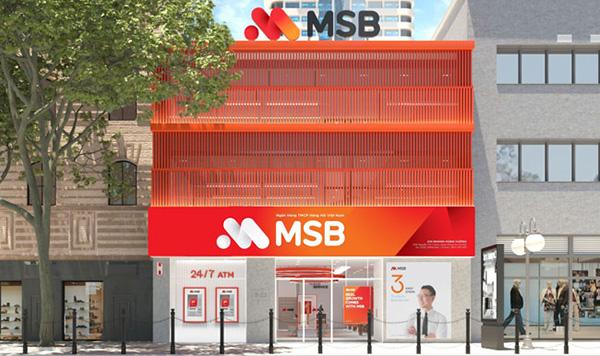 Maritime Bank thay đổi nhận diện thương hiệu mới - MSB từ ngày 14/1