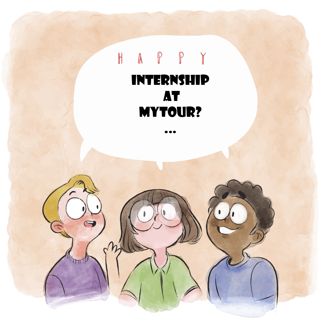Is it difficult to be an intern at Mytour?