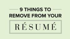 Loại bỏ 9 điều này khỏi CV của bạn ngay hôm nay