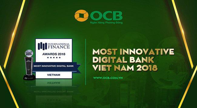 OCB - Ngân hàng số đột phá nhất năm 2018 do IFM vinh danh