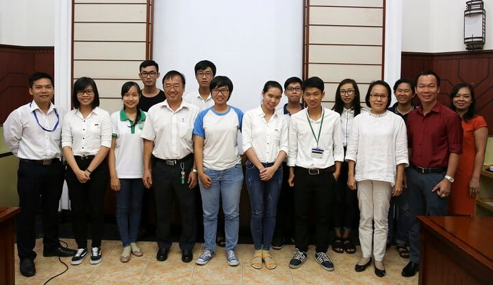 PNJ tài trợ kinh phí cho các đề tài nghiên cứu về môi trường của sinh viên