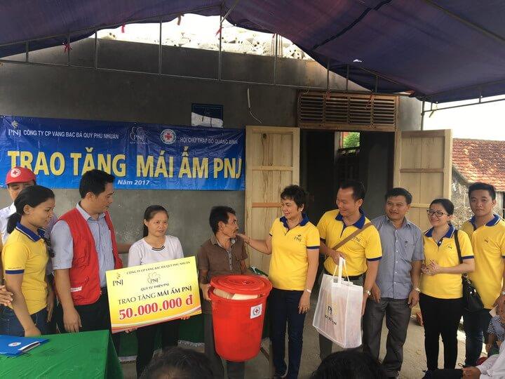Mái ấm PNJ cho đồng bào thiểu số tại Tuyên Quang