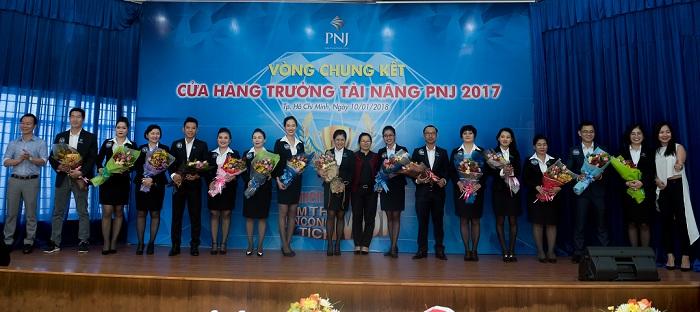 Kết Quả Chung Kết Cuộc Thi Cửa Hàng Trưởng Tài Năng PNJ 2017