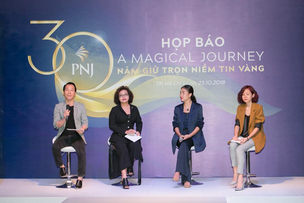 """PNJ Tổ Chức Họp Báo Công Bố Fashion Show""""A Magical Journey - 30 Năm Giữ Trọn Niềm Tin Vàng"""