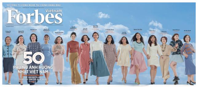 Forbes Việt Nam công bố danh sách 50 phụ nữ ảnh hưởng nhất Việt Nam 2019