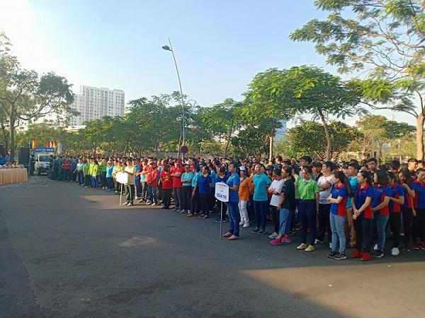 PNJ Tham Gia Ngày Chạy Olympic Vì Sức Khỏe Toàn Dân