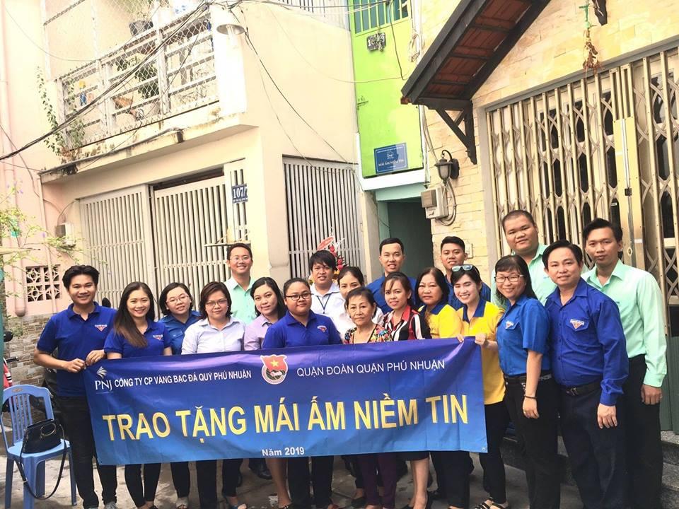 Mái ấm niềm tin đến với người nghèo Quận Phú Nhuận