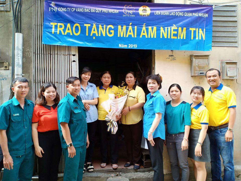 Mái Ấm Niềm Tin PNJ Đến Với Những Hoàn Cảnh Khó Khăn Tại TP.HCM