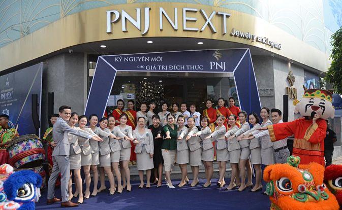 PNJ đồng loạt khai trương 9 cửa hàng mới