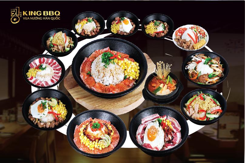 Khám phá menu mới hấp dẫn tại King BBQ