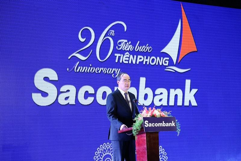 Sacombank kỷ niệm 26 năm thành lập: Quyết tâm tái cơ cấu thành công