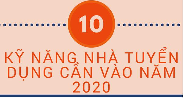 10 KỸ NĂNG NHÀ TUYỂN DỤNG SẼ SĂN TÌM TRONG NĂM 2020