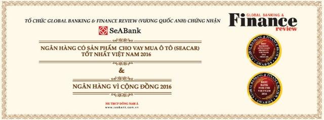 SeABank lần thứ năm nhận giải thưởng của Global Banking and Finance Review