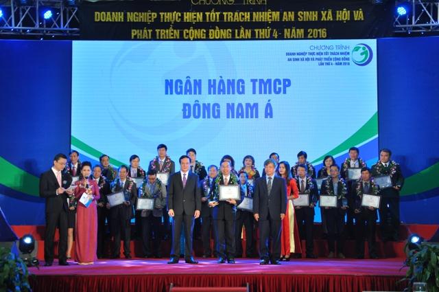 SeABank vinh dự nhận giải thưởng của Bộ Kế hoạch và Đầu tư