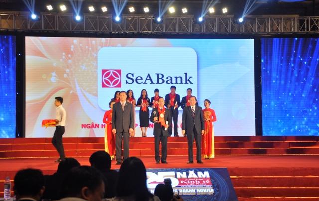 SeABank lần thứ 7 liên tiếp nhận giải thưởng Thương hiệu mạnh