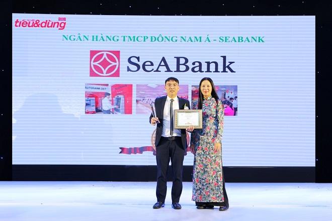 SeABank nhận vinh danh Top 100 sản phẩm/dịch vụ được Tin & Dùng năm 2016