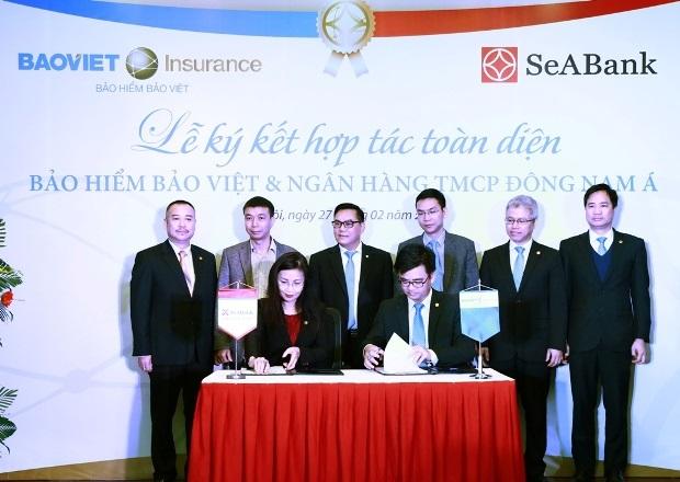 SeABank và Bảo hiểm Bảo Việt ký thỏa thuận hợp tác toàn diện