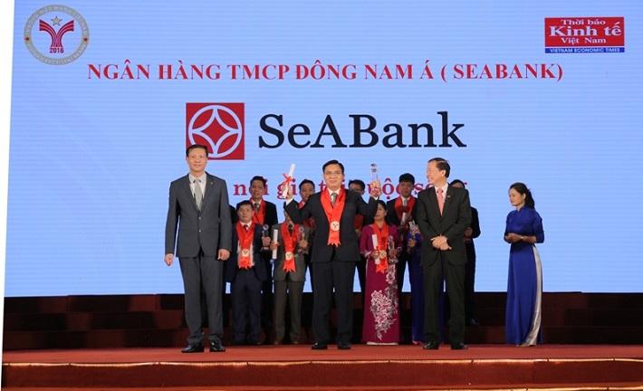 SeABank lần thứ 8 liên tiếp nhận giải thưởng Thương hiệu Mạnh Việt Nam
