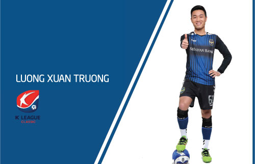 As the face of Shinhan Bank - Luong Xuan Truong
