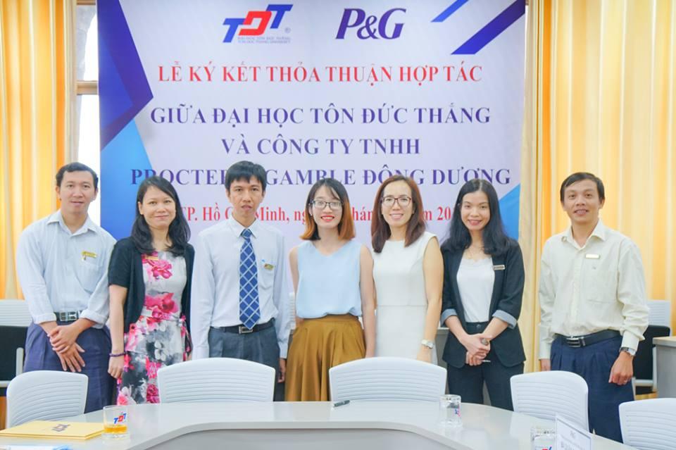 Ký hợp tác với Công ty TNHH Procter & Gamble Đông Dương