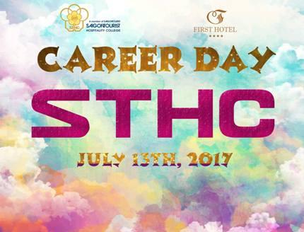 CAREER DAY 13/07/2017 - SAIGON TOURIST HOSPITALITY COLLEGE (STHC)