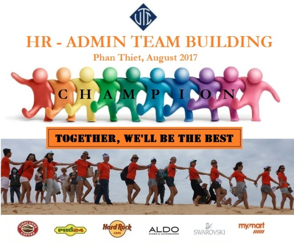 """HR & ADMIN DEPARTMENT HAS SUCCESSFULLY ORGANIZED TEAM BUILDING NAMED """"BUILD THE CHAMPION TEAM"""""""