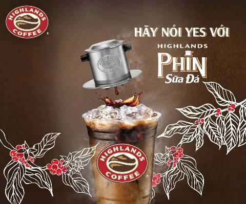 HÀNH TRÌNH CỦA MỘT LY PHIN SỮA ĐÁ TẠI CỬA HÀNG HIGHLANDS COFFEE