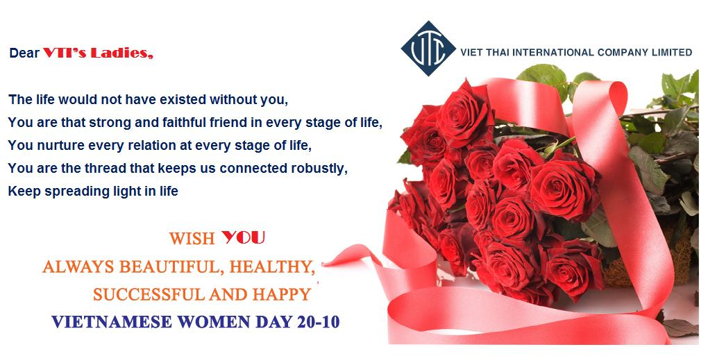 SPECIAL ACTIVTIES ON VIETNAMESE WOMEN DAY 20/10