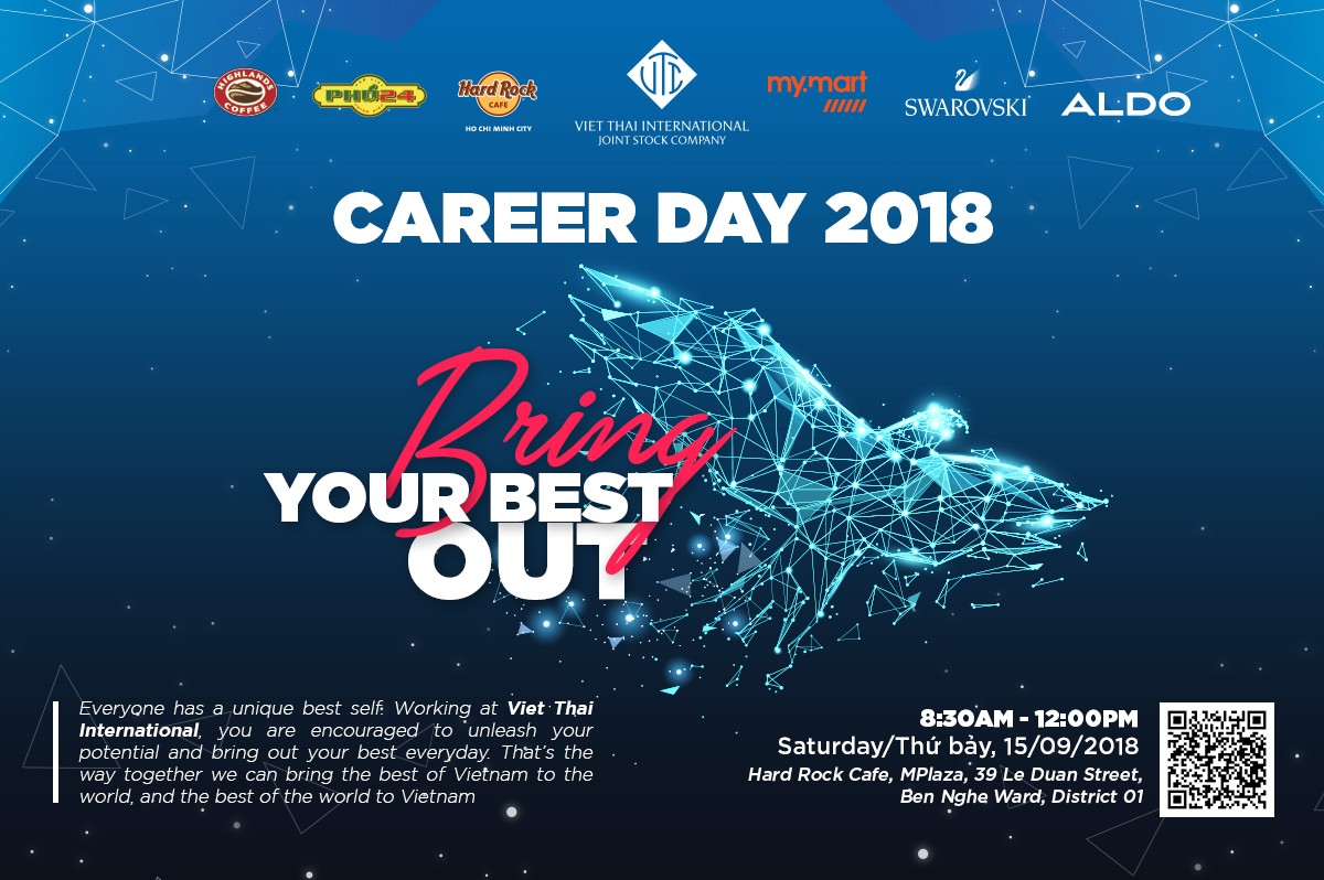 CAREER DAY – BRING YOUR BEST OUT