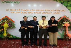 Lễ công bố thành lập Trung Tâm Nghiên Cứu Và Ứng Dụng Đậu Nành Vinasoy (VSAC)