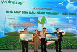 Khánh thành nhà máy sữa đậu nành Vinasoy - Bắc Ninh