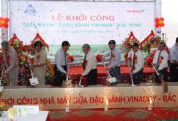Lễ khởi công nhà máy sữa đậu nành Việt Nam Vinasoy - Bắc Ninh