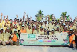 Vinasoy tổ chức team building tại 4 thành phố lớn vào tháng 10/2014